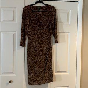 Lauren animal print dress